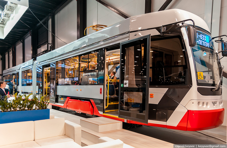 Roscosmos corporation gave a name of Chelyabinsk Meteor to an in-house manufactured tram